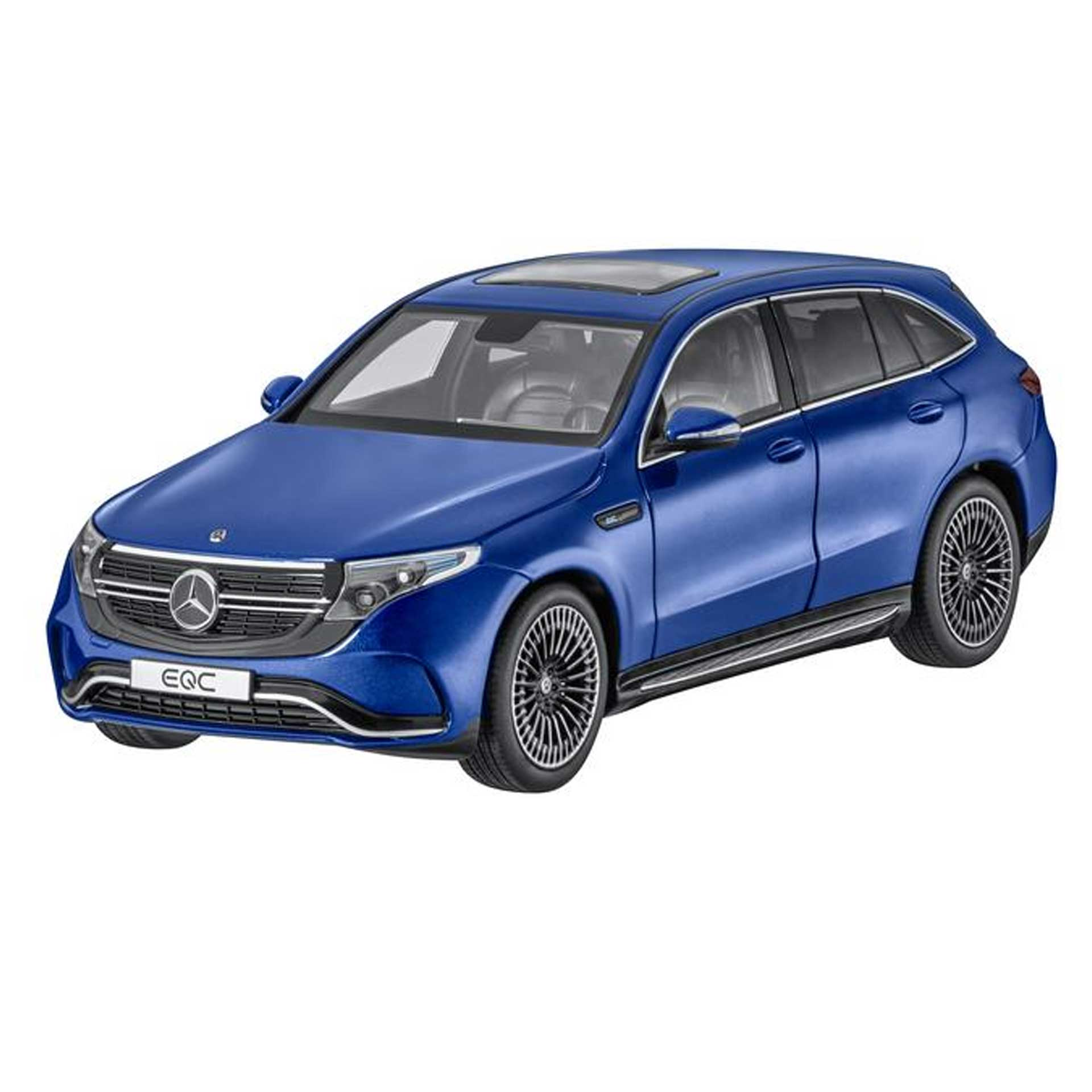 Mercedes-Benz Modellauto EQC N293 1:18 brillantblau