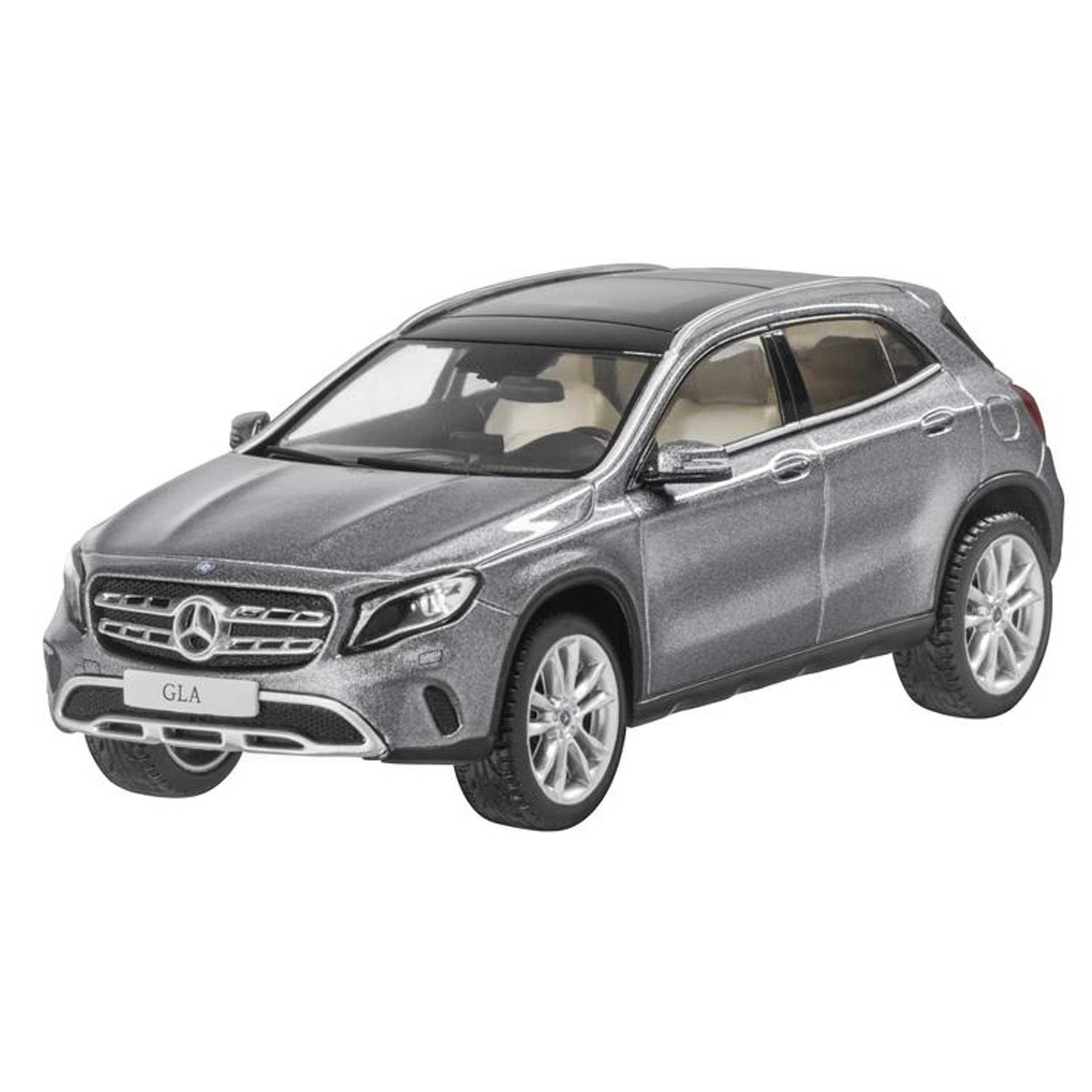Mercedes-Benz GLA Modellauto X156 1:43 mountaingrau