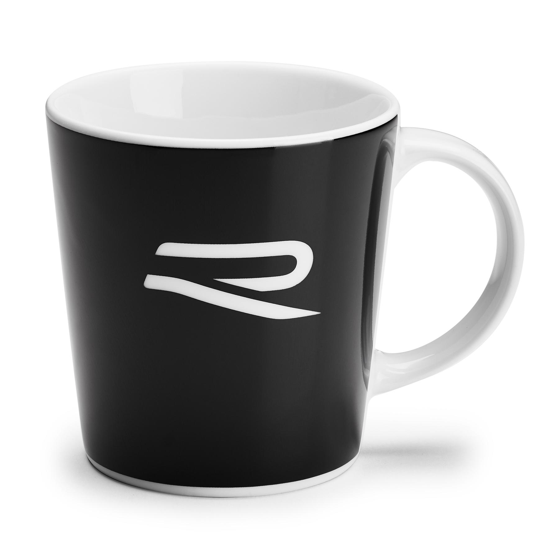 Volkswagen Kaffeebecher R-Kollektion schwarz/weiß