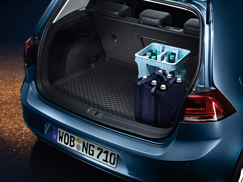 Volkswagen Kofferraumeinlage Golf 7 Limousine Gepäckraumeinlage