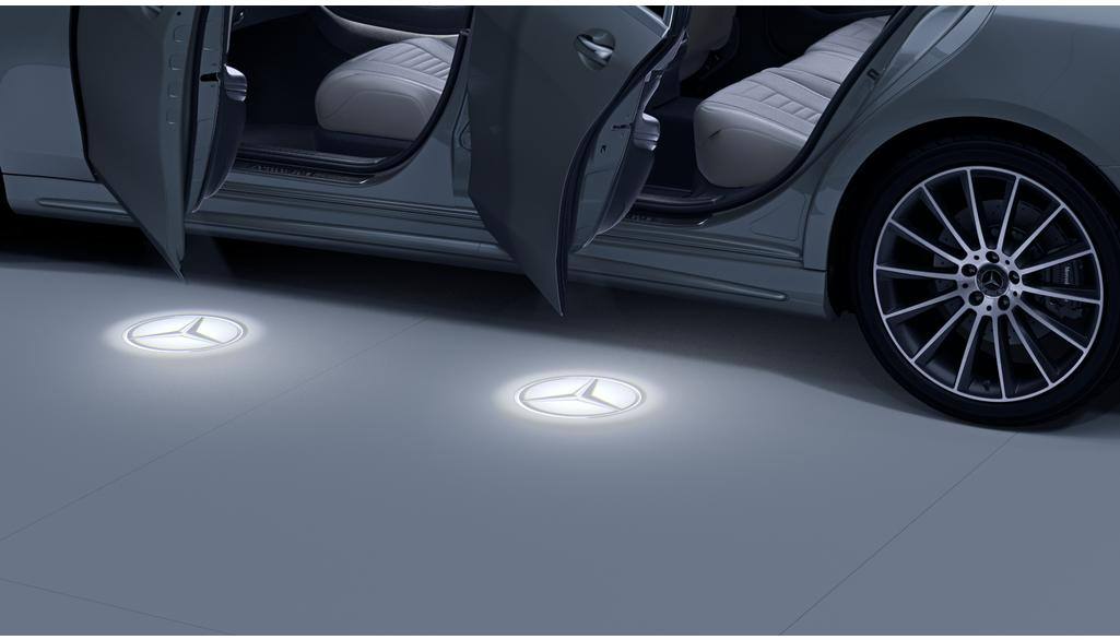 Mercedes-Benz LED-Projektor Mercedes Stern 2-teilig S-Klasse
