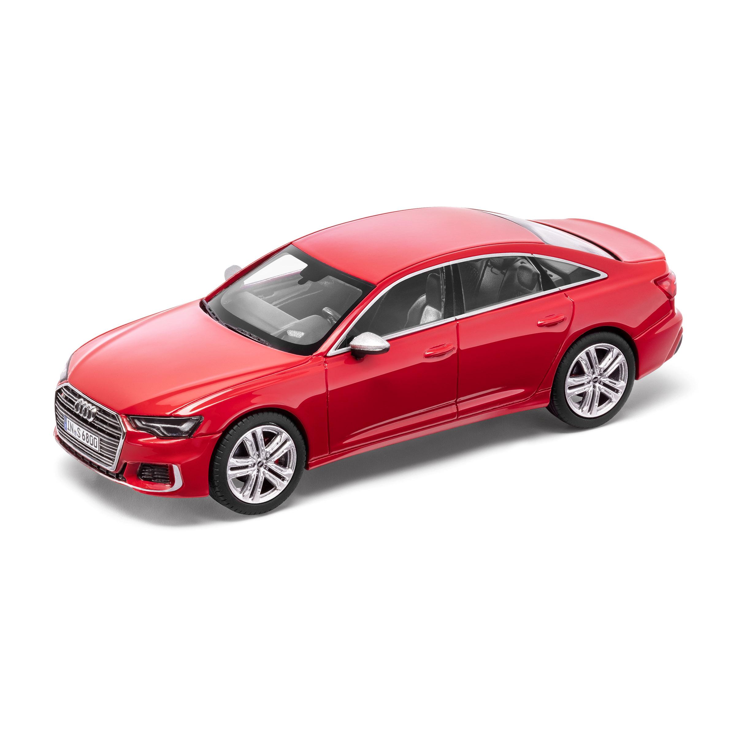 Audi S6 limitiert Tangorot 1:43