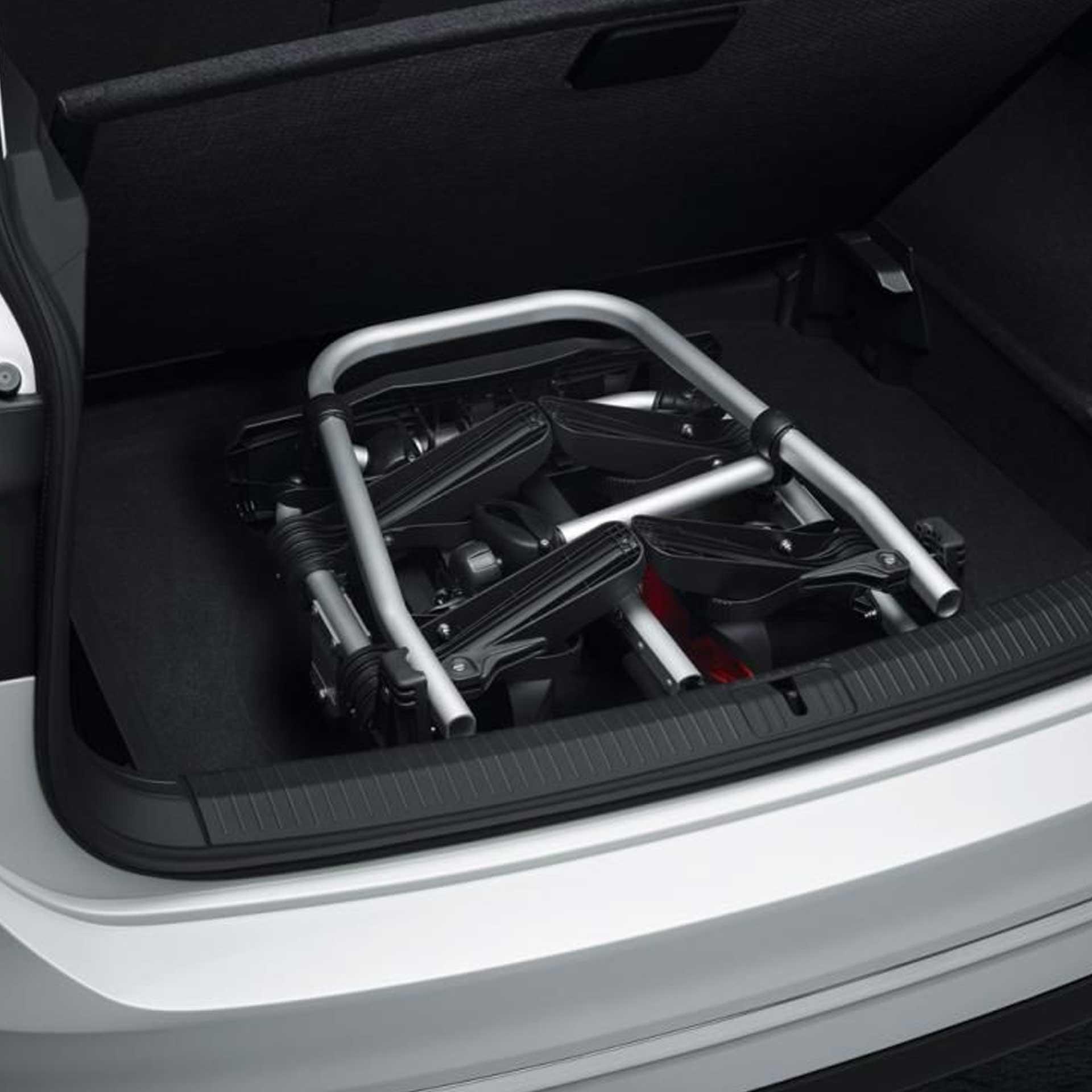 Volkswagen Fahrradträger Compact II für die Anhängervorrichtung für 2 Fahrräder faltbar
