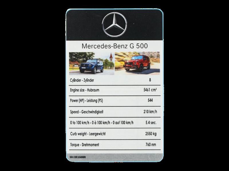 Mercedes-Benz Modellauto G-Klasse W463 3 Zoll 1:64