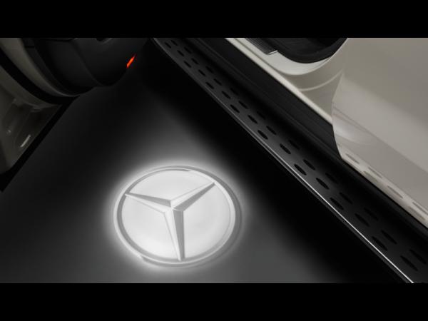 Mercedes-Benz Logo-Projektor für die Vordertüren