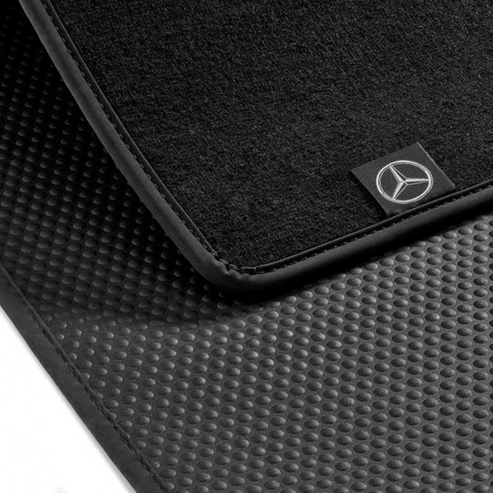 Mercedes-Benz Wendematte C-Klasse außer Hybrid rutschhemmend schwarz Kofferraummatte