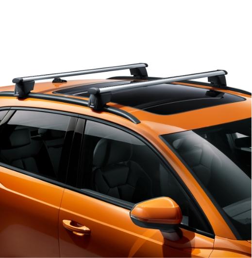 Audi Grundträger für Q3 / RSQ3 mit Dachreling