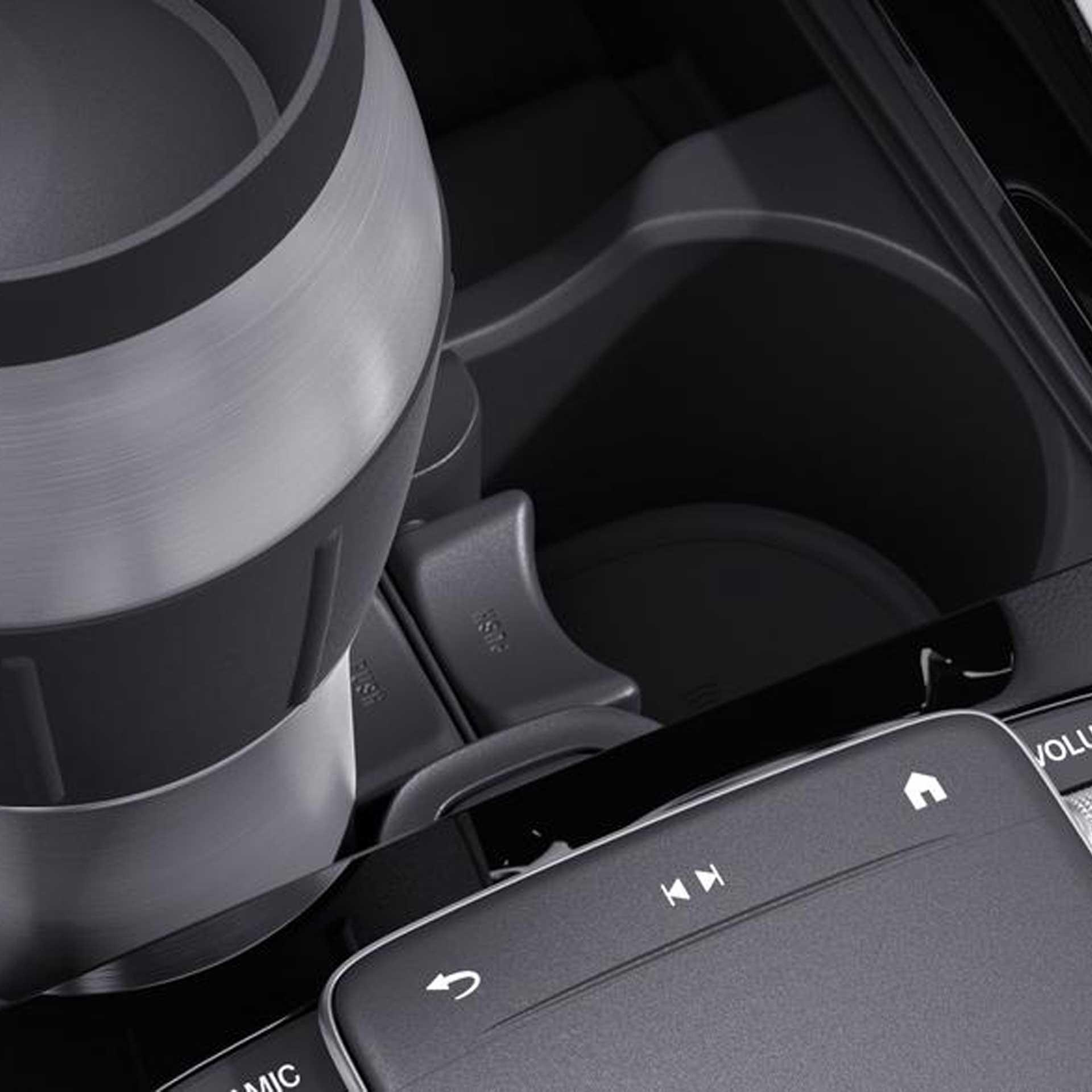 Mercedes-Benz Getränkehalter Mittelkonsole für Fahrzeuge mit Frontschaltgetriebe