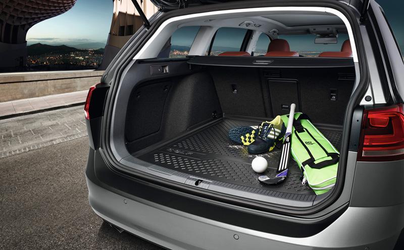 Volkswagen Gepäckraumschale Golf 7 Variant / Alltrack Kofferraumeinlage Kofferraumschale