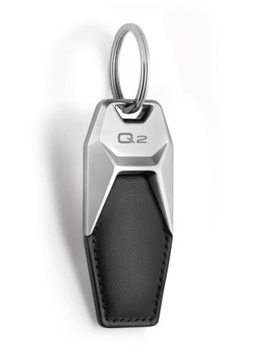 Audi Schlüsselanhänger Leder Q2