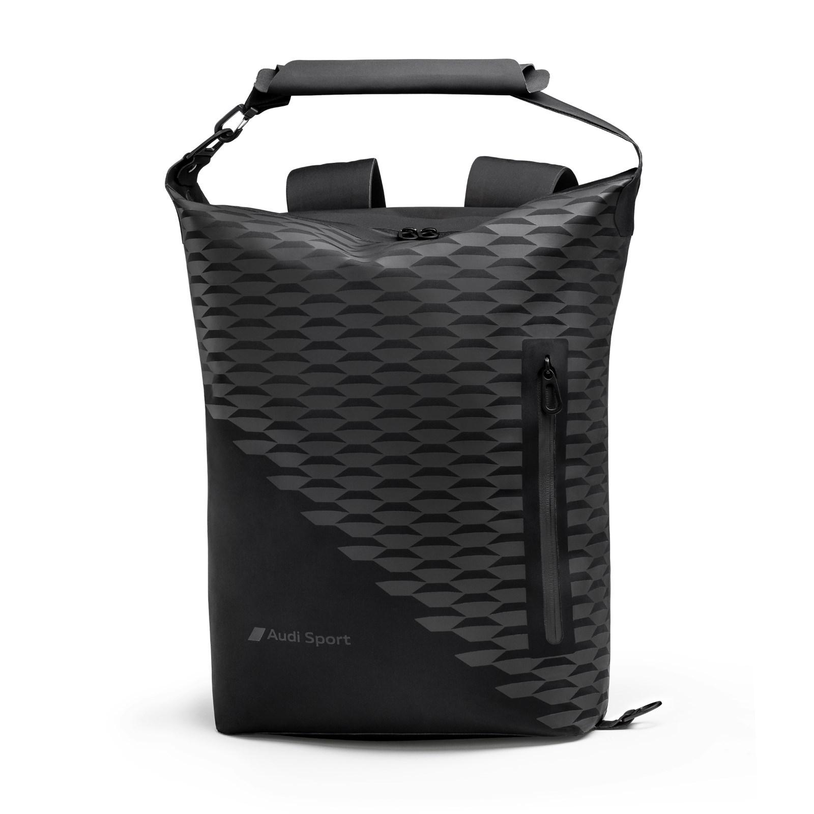 Audi Sport Rucksack schwarz Reiserucksack Tasche