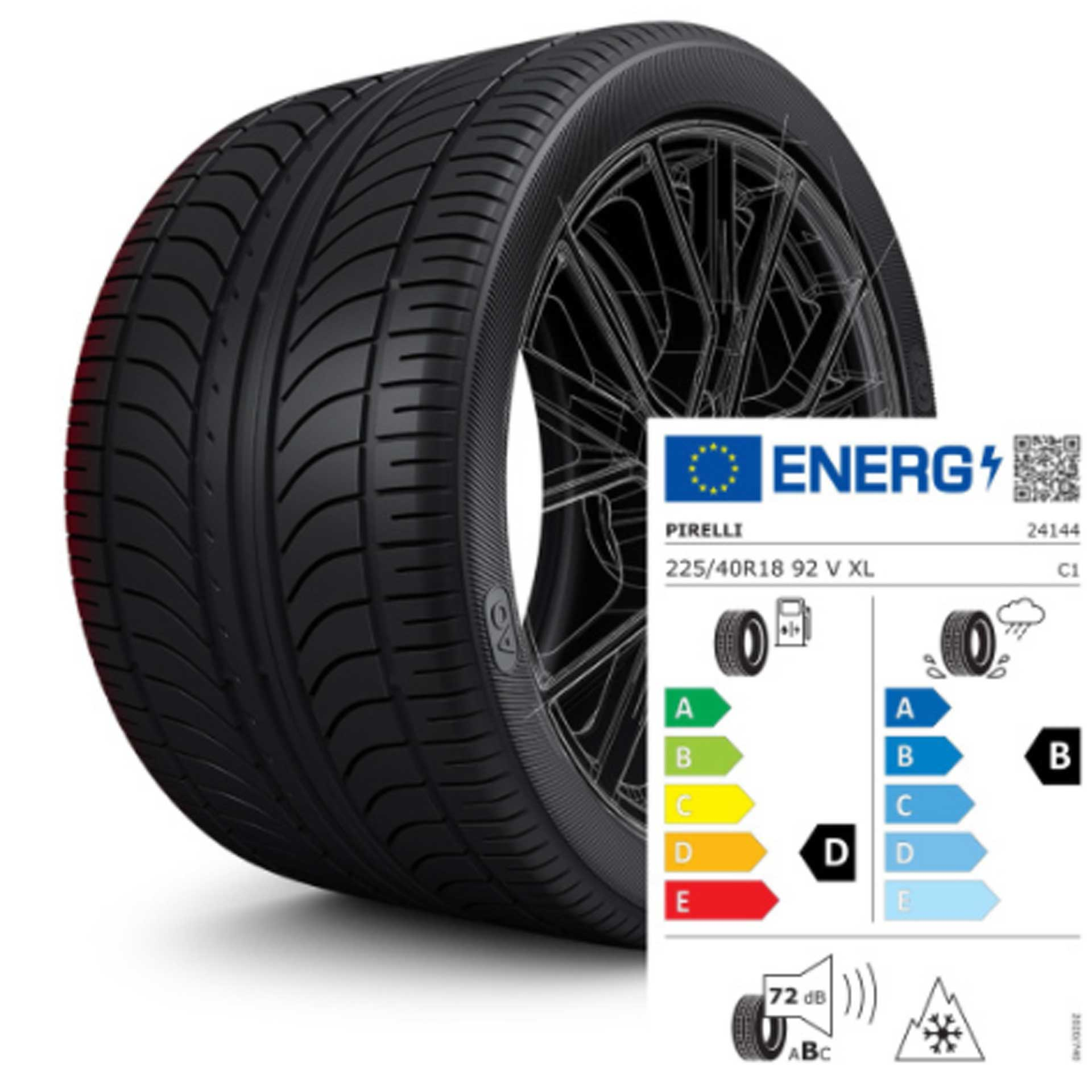 225/40 R18 92V XL Pirelli Sottozero 3 AO - Winterreifen