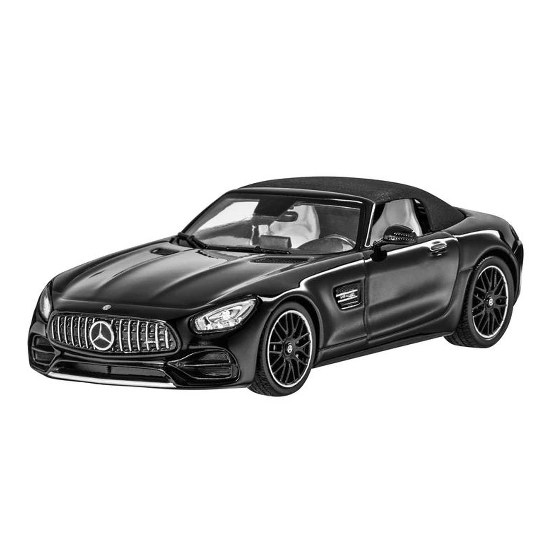 Mercedes-Benz AMG GT Roadster R190 Modellauto 1:43 magnetitschwarz