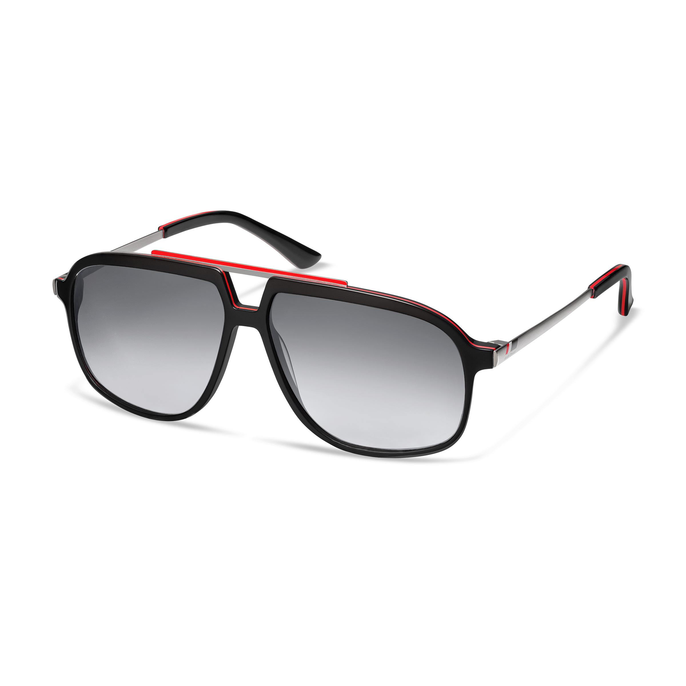 Audi heritage Sonnenbrille schwarz/rot