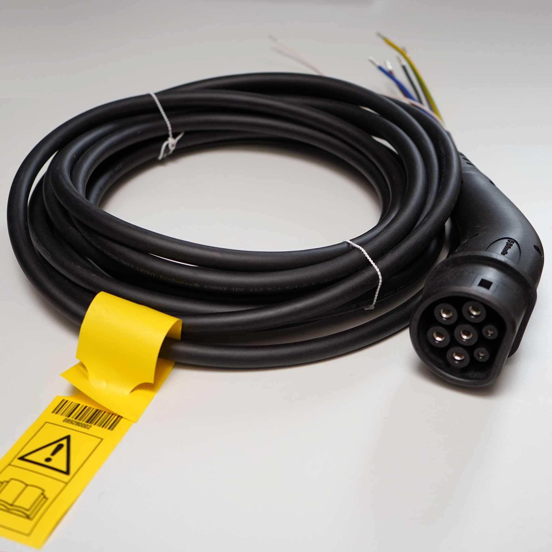 Webasto Ladekabel Live Pure 7 Meter bis zu 11 kW