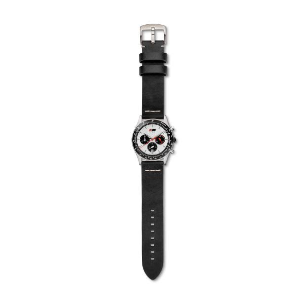 Audi Chronograph Herren, schwarz/weiß