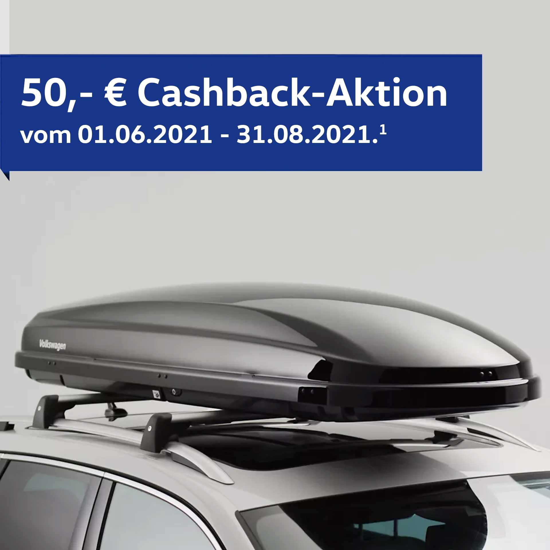 VW Original Comfort Dachbox schwarz 460 l