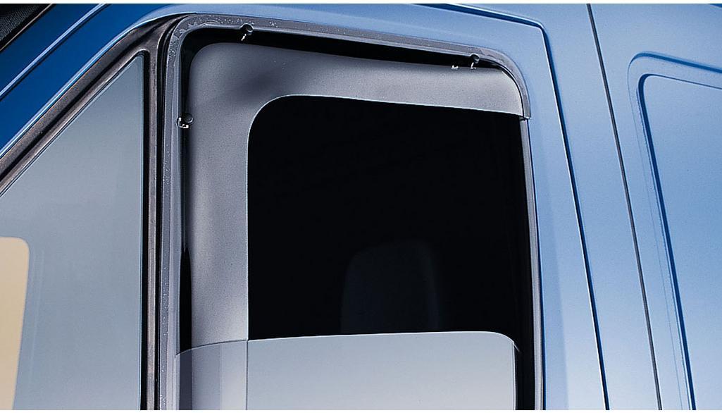 Mercedes-Benz Seitenfenster-Windabweiser Sprinter Acrylglas