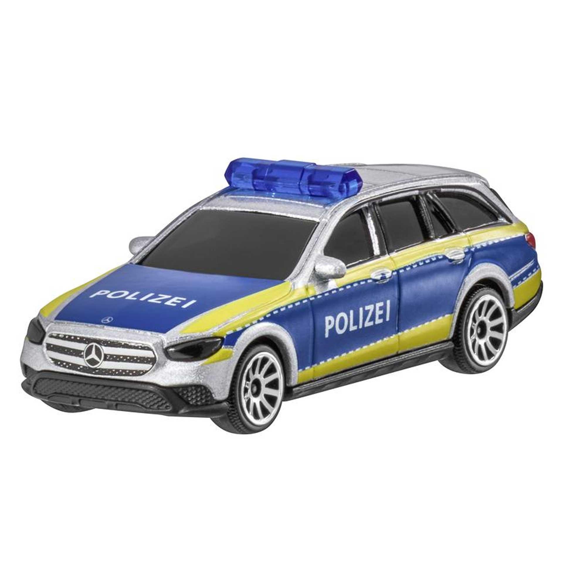 Mercedes-Benz Modellauto E-Klasse Polizei S213 T-Modell All-Terrain 1:64