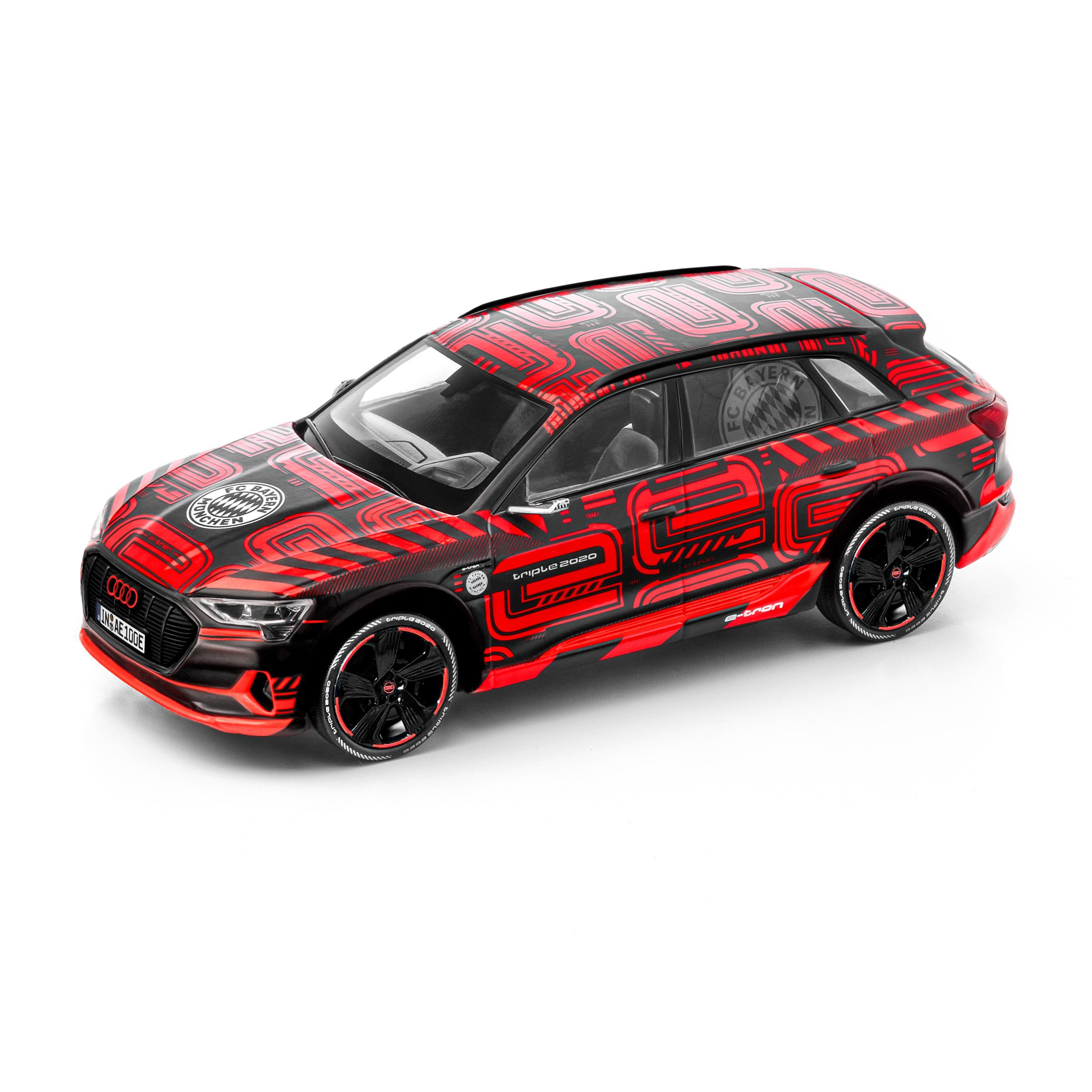 Audi e-tron FC Bayern triple 2020 Limitierte Edition Modellauto 1:43