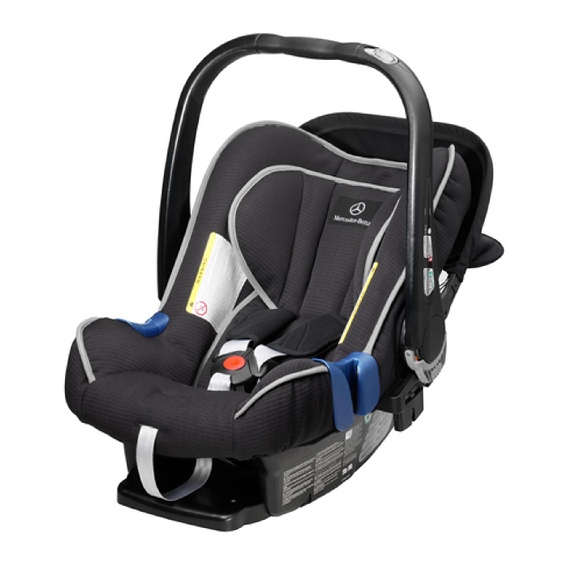 Mercedes-Benz Ersatzbezug für Kindersitz / Babyschale BABY-SAFE plus II schwarz