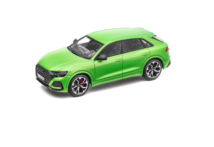 Audi RS Q8 Modellauto Javagrün 1:43