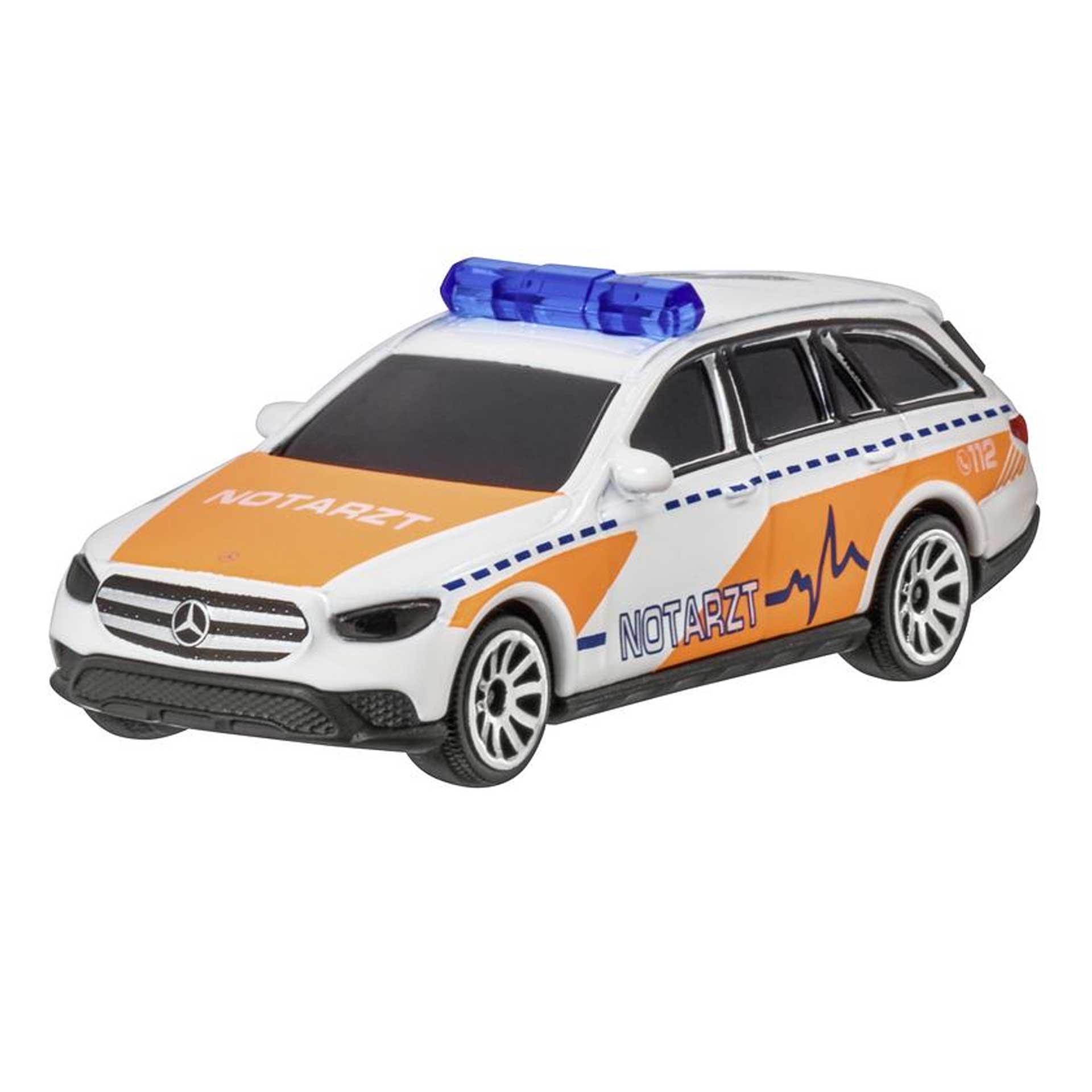 Mercedes-Benz Modellauto E-Klasse Notarzt S213 T-Modell All-Terrain 1:64