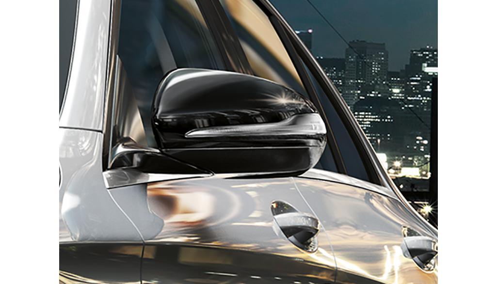 Mercedes-Benz Außenspiegel-Gehäuse 2-teilig