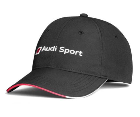 Audi Sport Cap - Schwarz