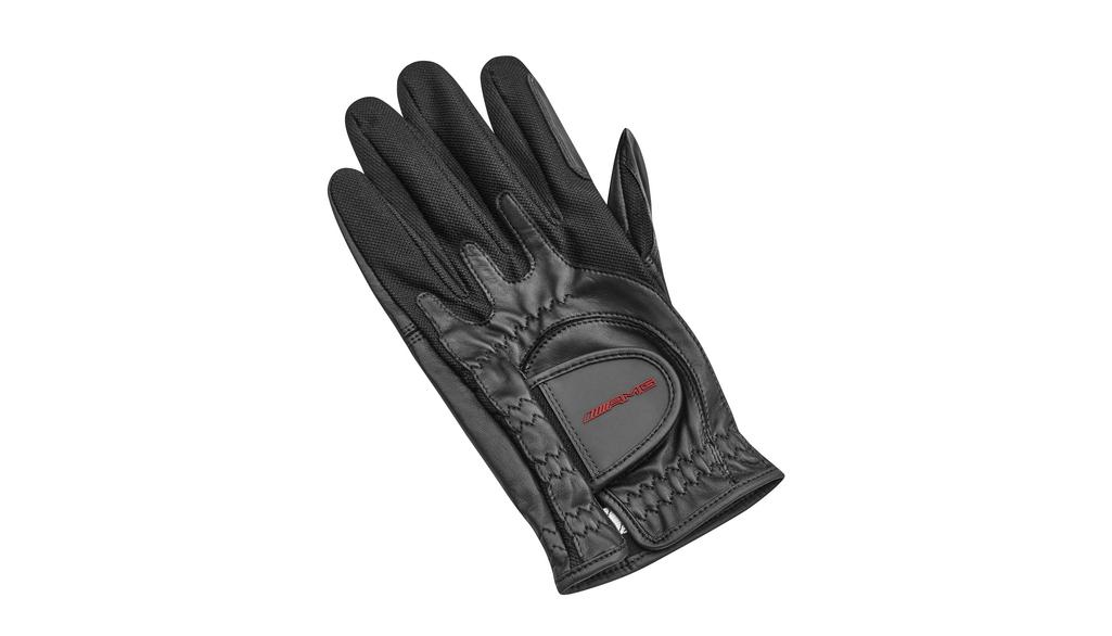 Mercedes-AMG Golf-Handschuh schwarz Linkshand one size