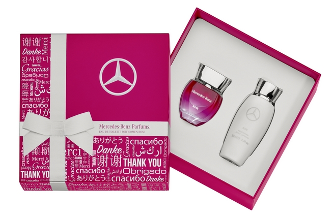 Mercedes-Benz For Women Rose, 2er-Set