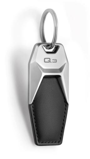 Audi Schlüsselanhänger Leder Q3