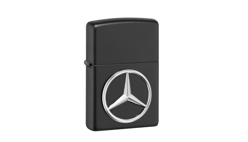 Mercedes-Benz Feuerzeug schwarz by Zippo