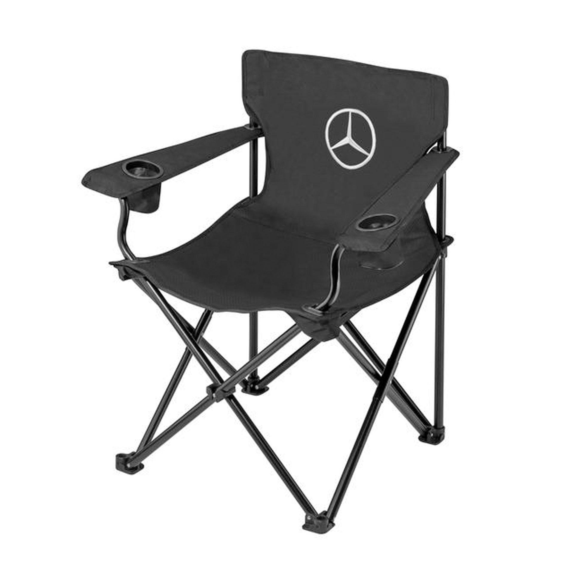 Mercedes-Benz Faltstuhl schwarz von BRUNNER