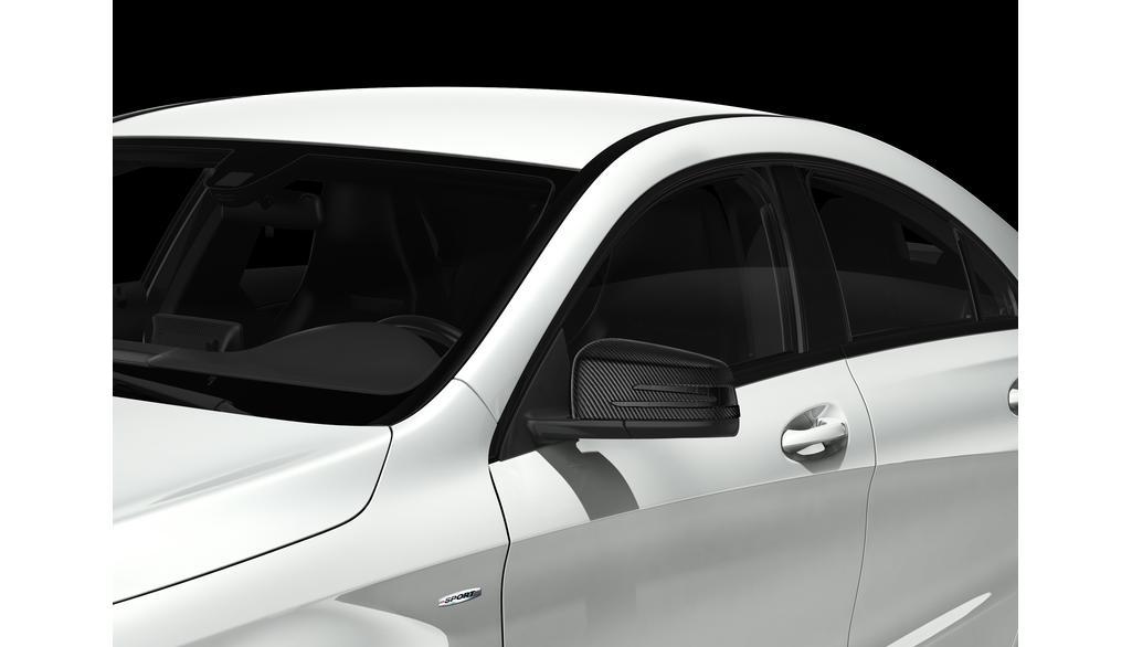 Mercedes-Benz Außenspiegel-Cover Carbon-Style A-Klasse (176) B-Klasse (246) CLA (117) GLA (156)