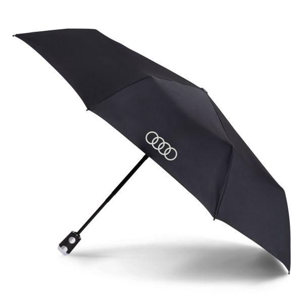 Audi Taschenschirm, knirps, schwarz