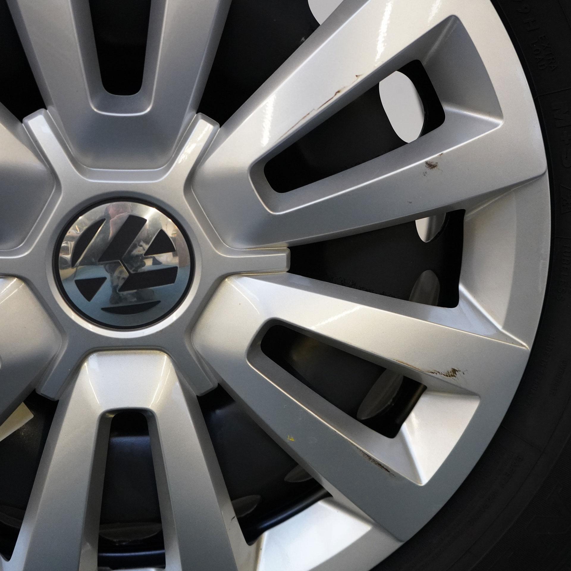 VW Beetle Gebrauchter 16 Zoll Original Volkswagen Winterkomplettrad-Satz Dunlop