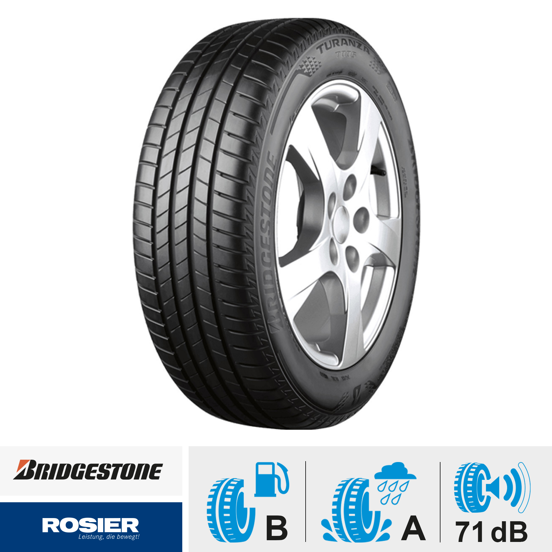 Bridgestone Turanza T005 - Sommerreifen