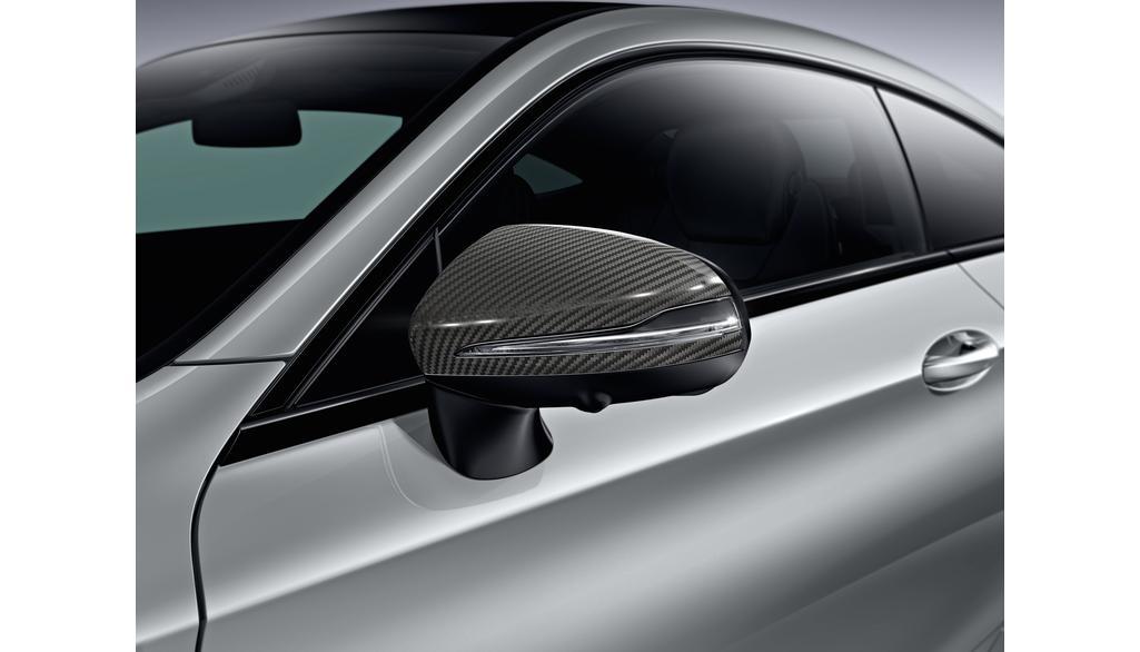 Mercedes-Benz Außenspiegel-Cover Carbon-Style C-Klasse EQC GLA GLB GLC S-Klasse EQA