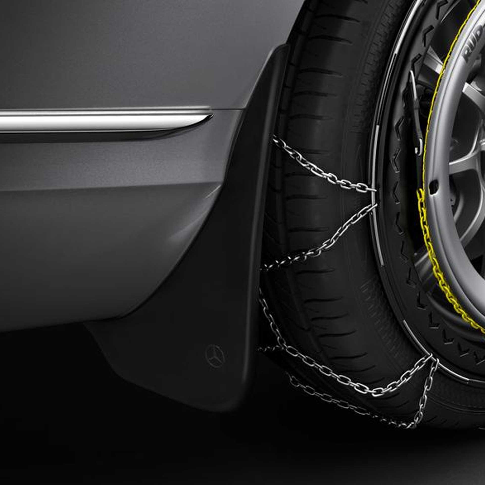 Mercedes-Benz Schmutzfänger C-Klasse 206 Satz vorne schwarz