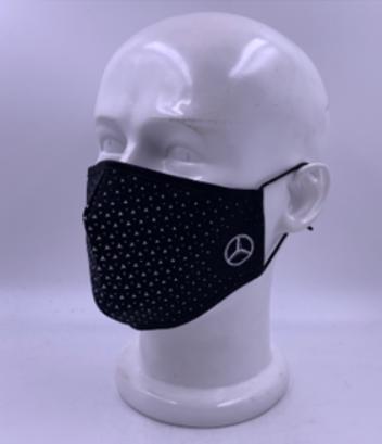 Mercedes-Benz Mund- und Nasenbedeckung mit kleinem Stern