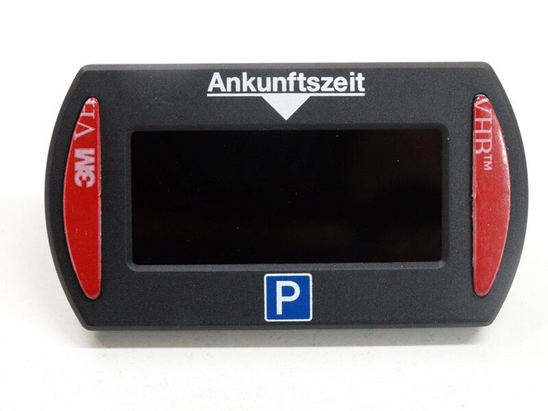 PARK LITE Mini elektronische Parkscheibe in schwarz