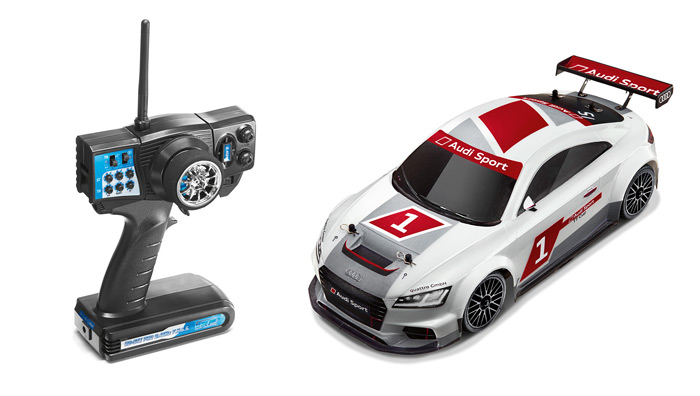 Audi TT cup 2015 RC Maßstab 1:10 ferngesteuertes Auto