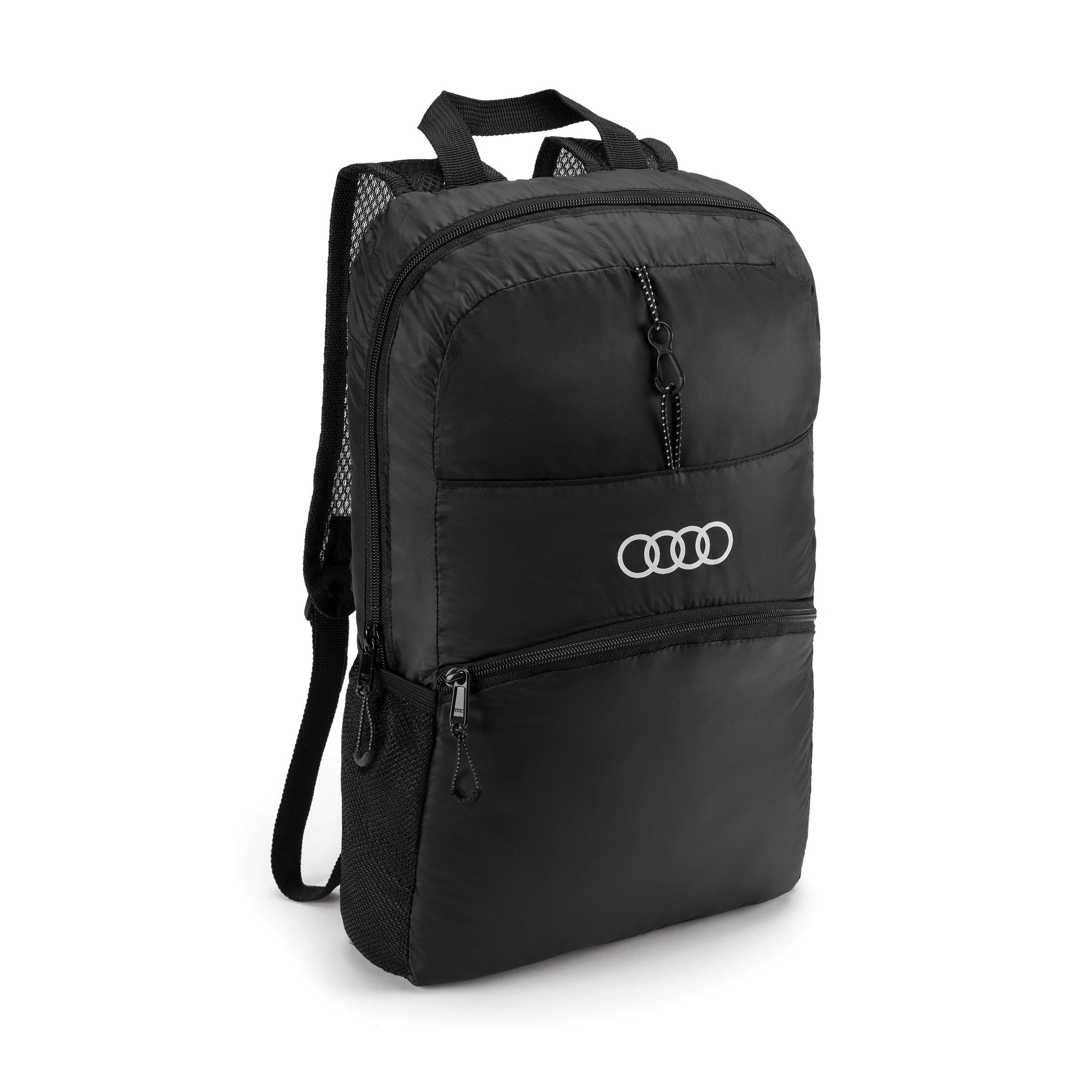 Audi Rucksack faltbar schwarz