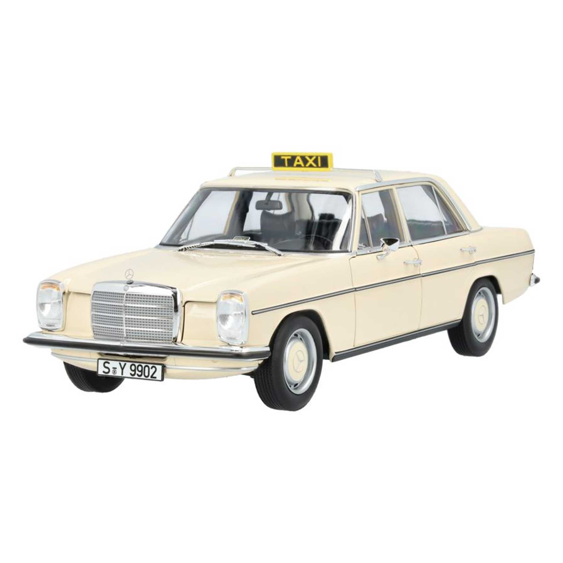 Mercedes-Benz Modellauto 200 /8 Taxi W114 W115 (1968-1973) 1:18