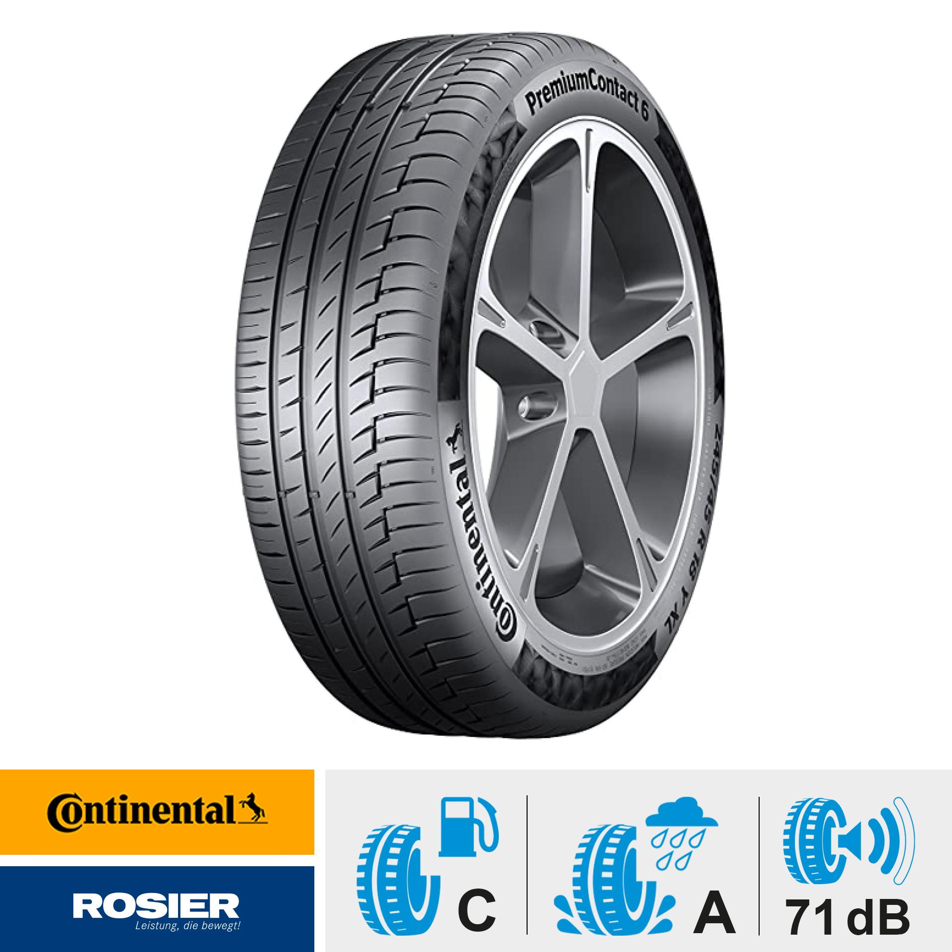 Continental PremiumContact 6 225/45 R 17 91Y - Sommerreifen