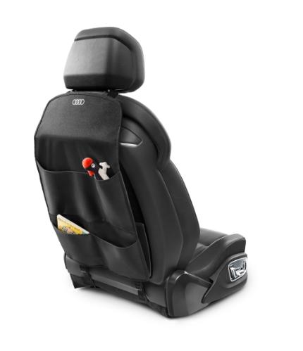 Audi Rückenlehnenschutz  mit vier Aufbewahrungsfächern
