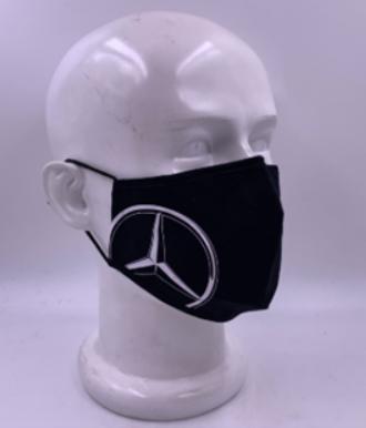 Mercedes-Benz Mund- und Nasenbedeckung mit großem Stern