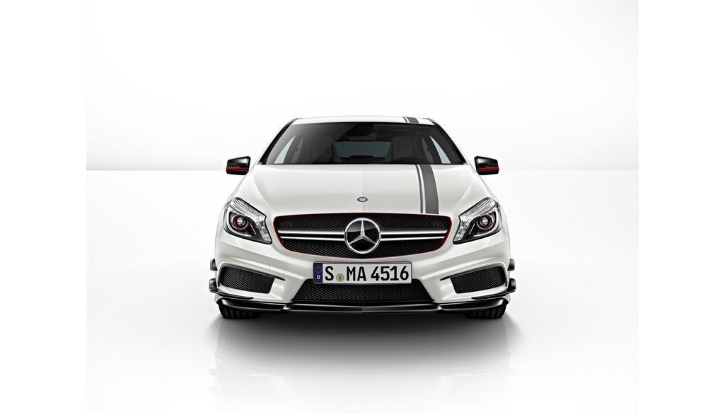 Mercedes-AMG A-Klasse W176  Sportstreifen-Paket Motorhaube und Dach