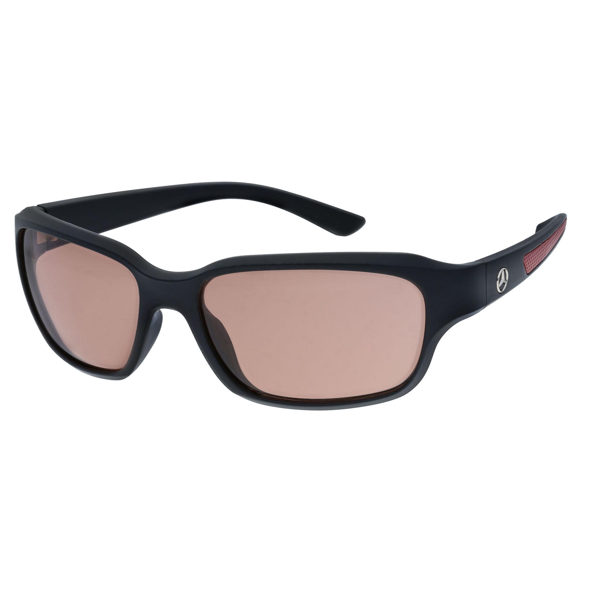 Mercedes-Benz Fahrer-Sonnenbrille Herren Sonnenbrille schwarz rot